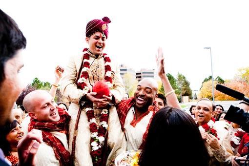 Outdoor Denver Colorado Indian Wedding