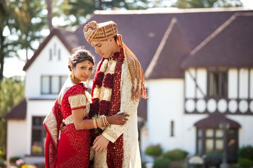 Outdoor Fusion Indian Wedding by Choco Studio Photography - 2