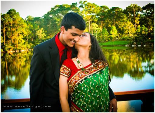 Florida Indian Engagement Photos by naza Design