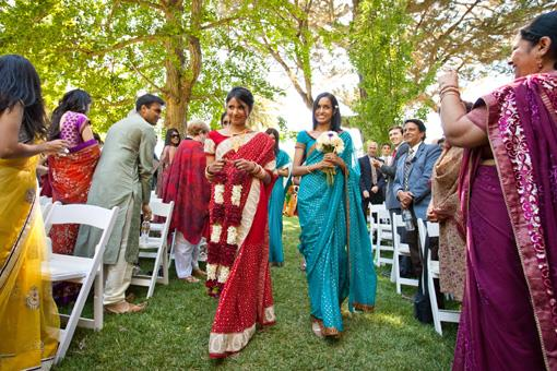 Outdoor Multicultural Hindu Wedding at Palmdale Estates - 1