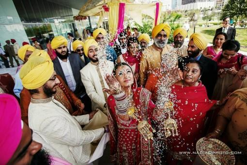Outdoor Sikh Wedding Ceremony at Tampa Bay Museum of Art - 2