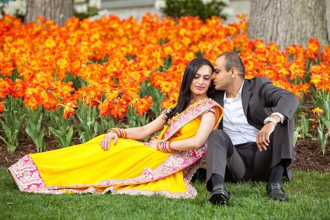 1a Indian Wedding Outdoor Esession