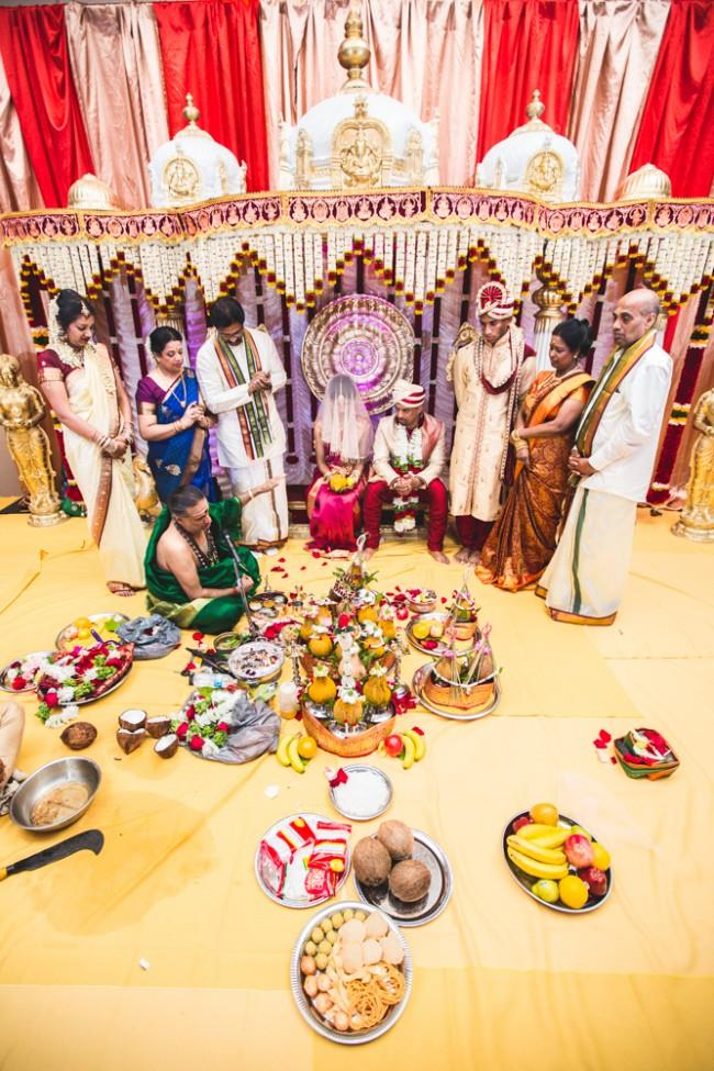 20a indian wedding ceremony mandap
