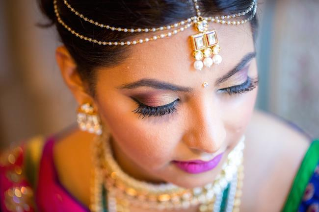 7a indian wedding jewelry and makeup
