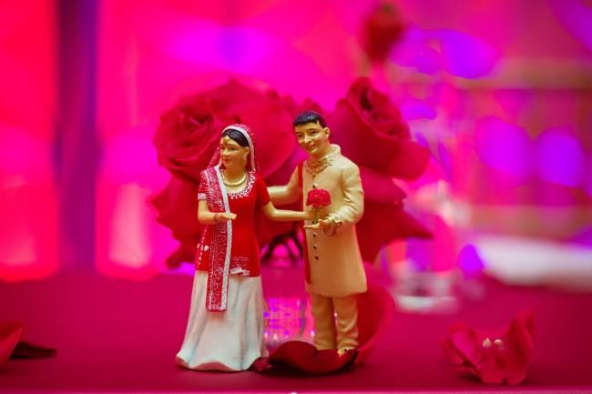 13 indian wedding cake topper