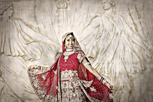 Red, White and Gold Indian Portraits by Photography in Style - 2