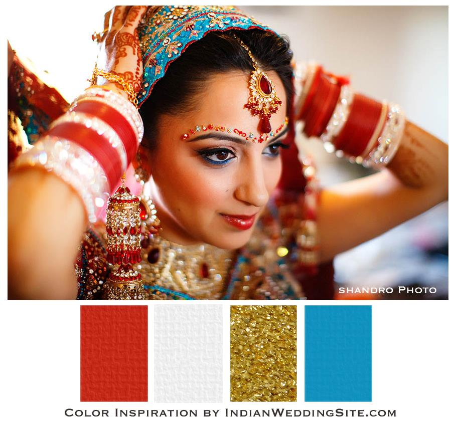 Happy 4th of July - Indian Wedding Color Inspiration
