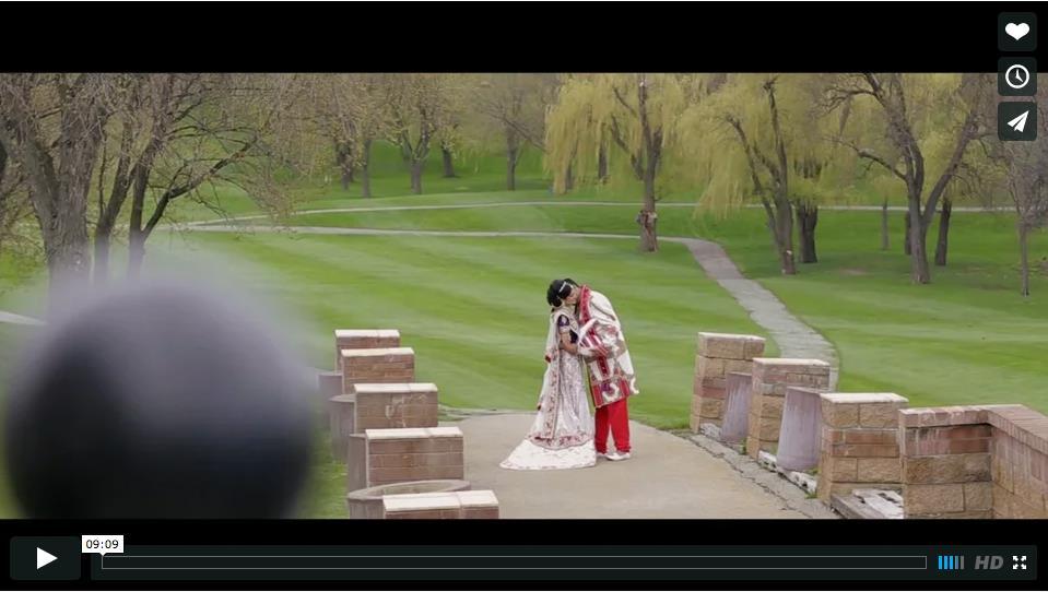 Chicago Hindu Wedding Video by Aria Fine Art Films