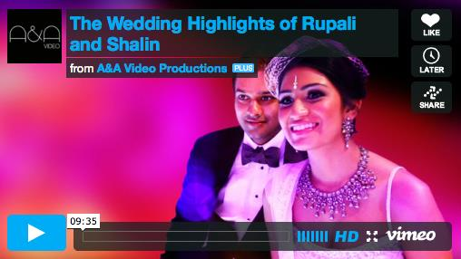 Rupali and Shalin Indian Wedding Highlights by A&A Video