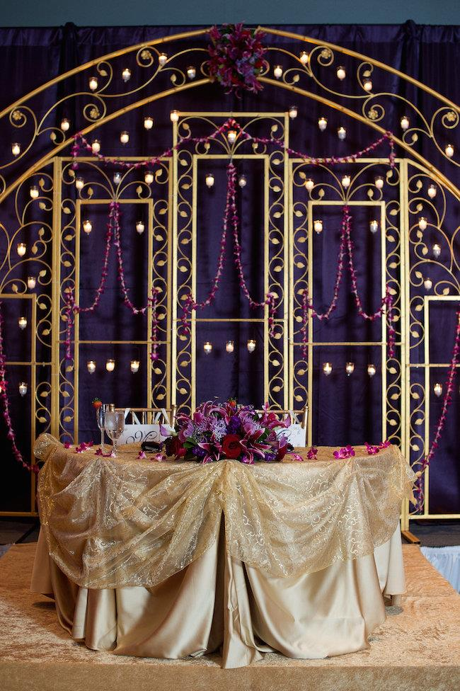 53a indian wedding table