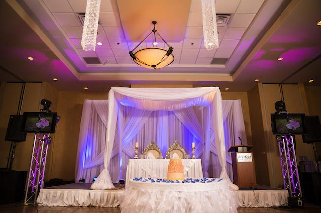 30a indian wedding staging