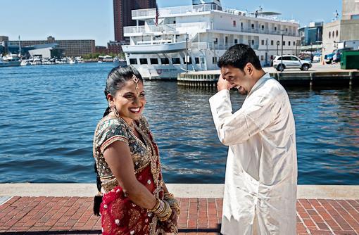 Seema and Sooraj - Indian First Look Portraits
