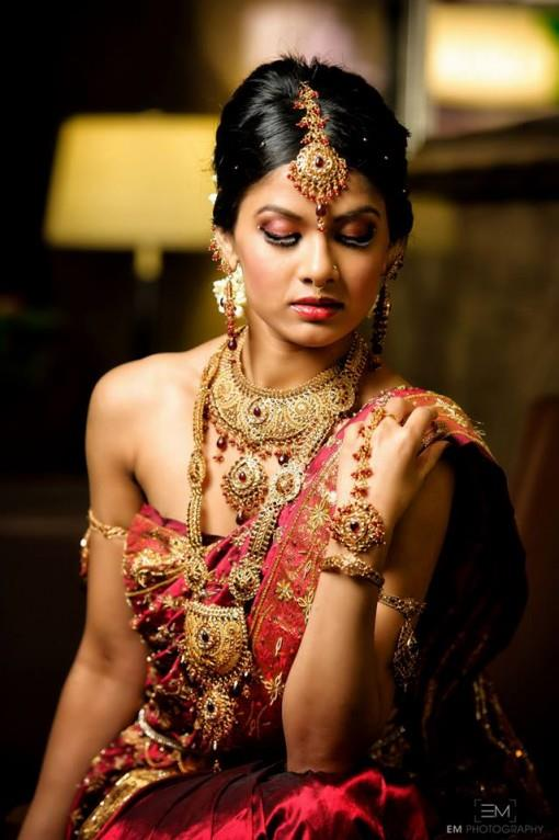 Sexy South Indian Bride Hair And Makeup Shoot 3