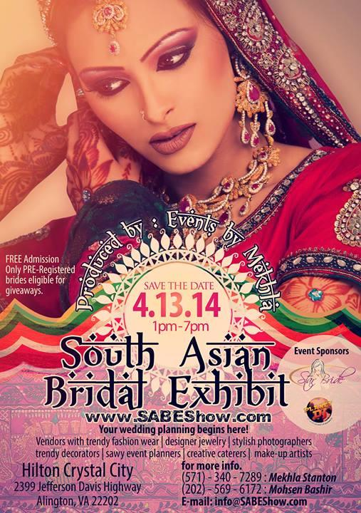 South-Asian-Bridal-Exhibit-Arlington-VA-April-13