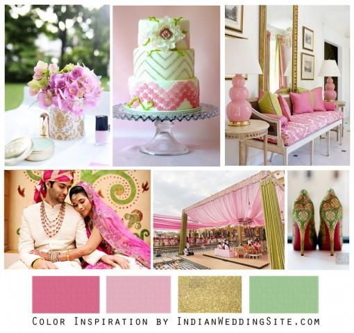 Sweet Pea Blossoms - Indian Wedding Color Inspiration