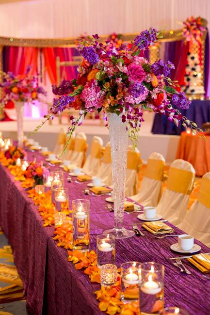 11a Indian wedding reception decor