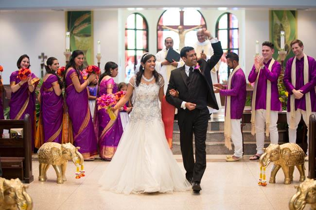 5aa indian wedding catholic ceremony