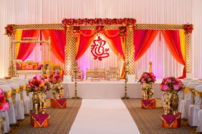 7a Indian wedding mandap