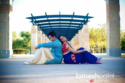 Texas Indian E-Session by Lomesh Photography