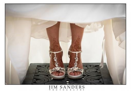 Tuesday Shoesday - Jeweled Sandals & Mehndi Feet