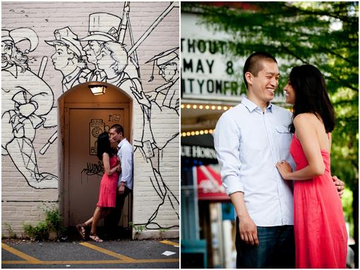 UNC Chapel Hill Engagement Session by Charo Photo
