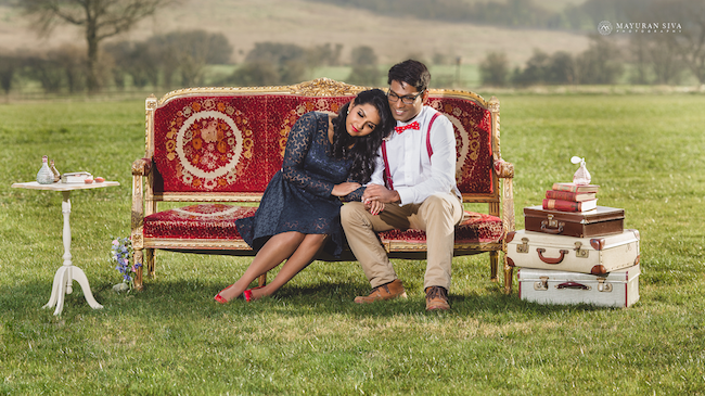 11aoutdoor indian engagement ession couch
