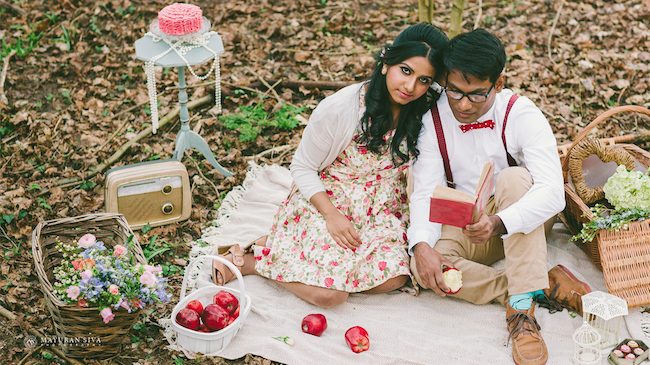 4aoutdoor indian esession picnic