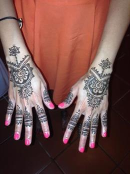 Loto Mehndi by CB & Co.