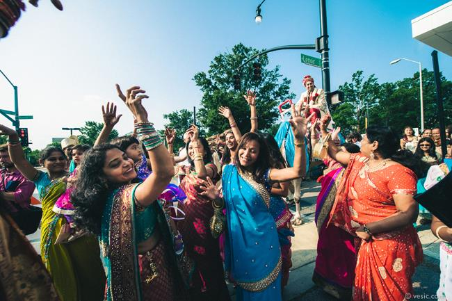 16a indian wedding baraat