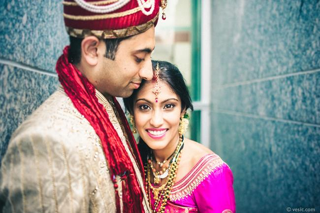 35a indian wedding portrait