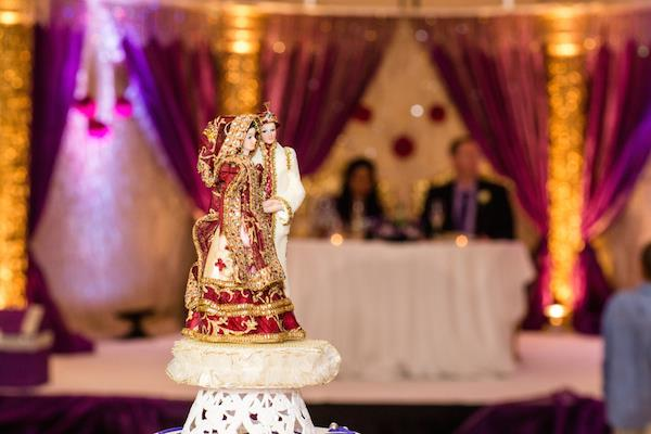 34a indian wedding cake topper