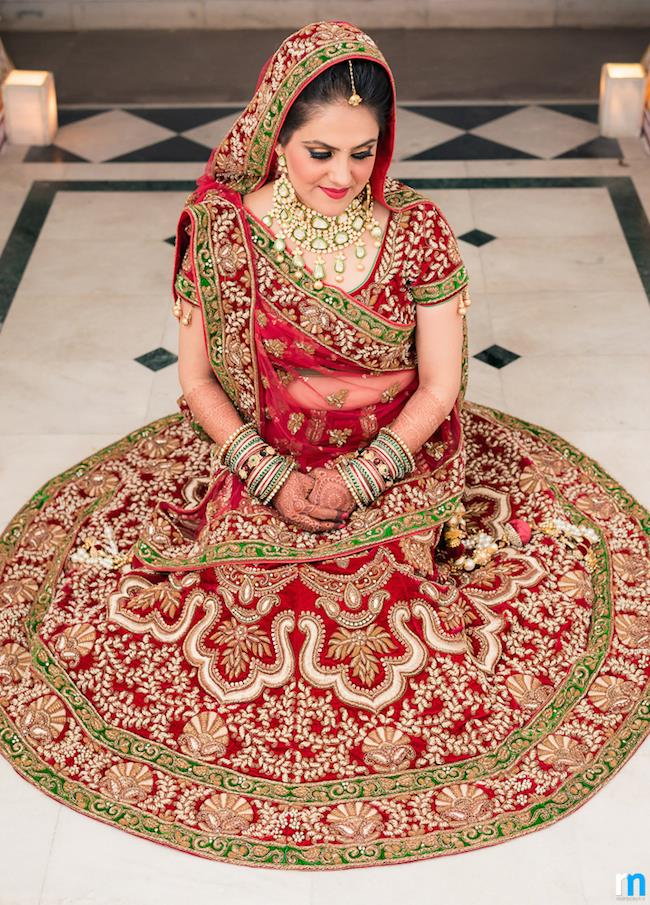 22a indian wedding lengha