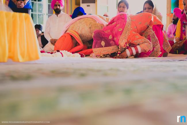 27a indian wedding sikh ceremony