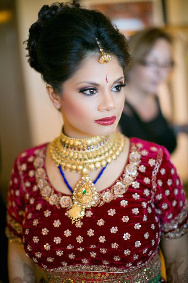 21a indian wedding bridal look