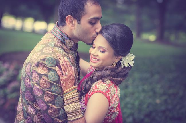 5a indian wedding bride and groom