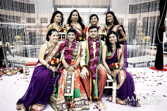 21a Indian Wedding Bridal Party