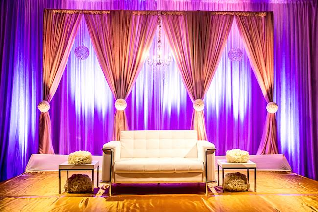 26a indian wedding reception staging