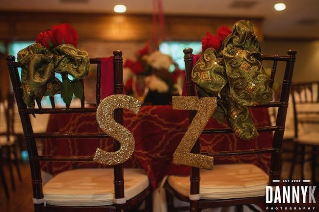 33a INDIAN WEDDING PERSONALIZED RECEPTION CHAIRS