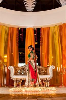 Vintage Colorful Indian Wedding Shoot by Kimberly Photography